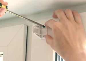 инструкция по монтажу рулонных штор серии мини - фото 4